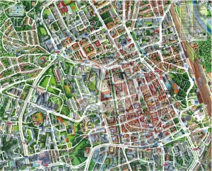 Košice mapa